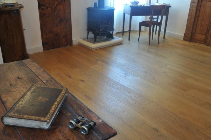 Cottage parquet contemporaneo - Alberani e Parketti