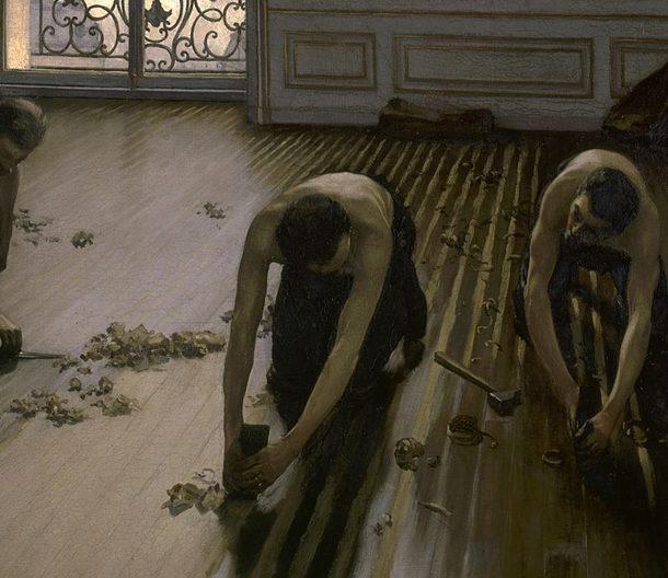 storia del parquet